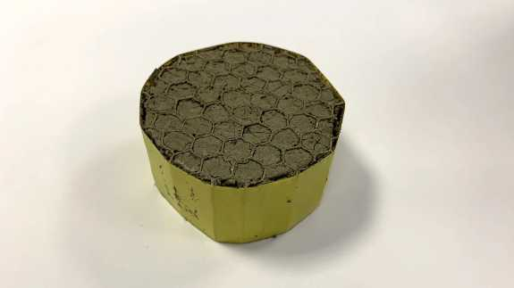 Graphene oxide-polyvinyl alcohol aerogel weighs just 2.1 kg per cubic meter, making it the lightest acoustic insulation ever manufactured for jet engine