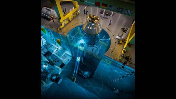 world largest swimming pool deigned for astronaut training