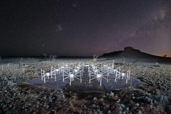 Murchison Widefield Array in outback WA has twice completed the deepest & broadest search for signs of extraterrestrial intelligence.