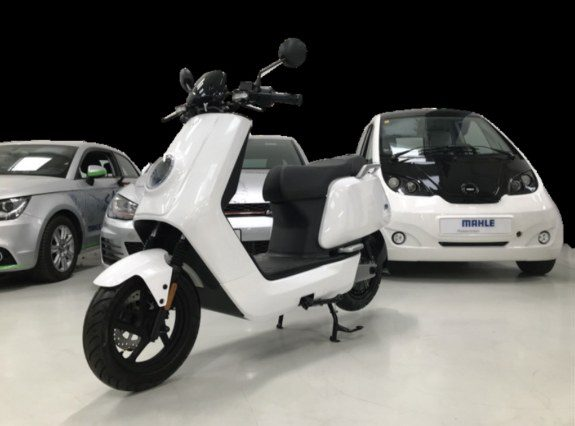 A lithium carbon battery architecture has capability to recharge an electric moped in 90 sec
