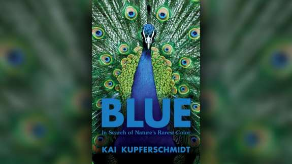 """In book """"Blue,"""" writer Kai Kupferschmidt explores the science behind this elusive color."""