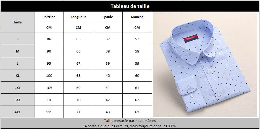 Chemisier femme chic taille 38