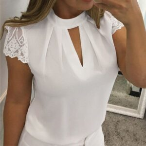 Blouse blanche chic pas cher