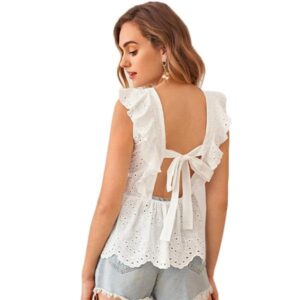 Blouse femme blanche mode