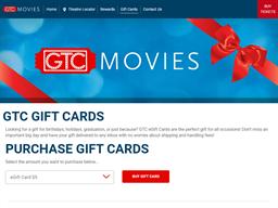 Georgia Theatre Company   Gift Card Balance Check