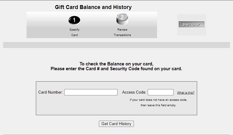 Skyline Chili Gift Card Balance