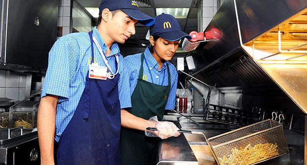 McDonald's corporate employee benefits