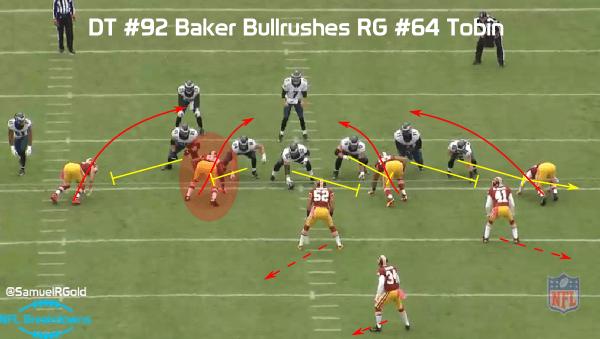 Baker sack on Bradford @SamuelRGold