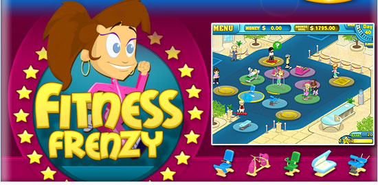 لعبة Fitness Frenzy كاملة للتحميل