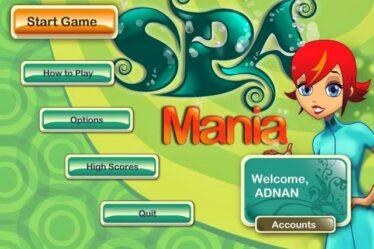 لعبة Spa Mania كاملة للتحميل