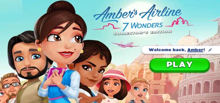 لعبة Amber's Airline - 7 Wonders Collector's Edition كاملة للتحميل