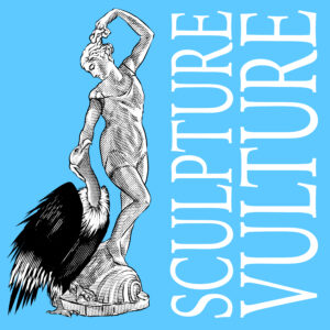 the sculpture vulture podcast logo