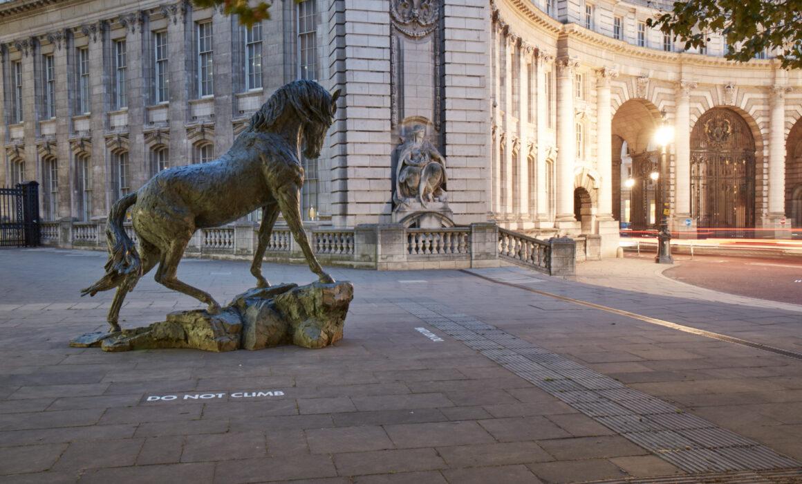 Hamish Mackie Andaluscian horse sculpture