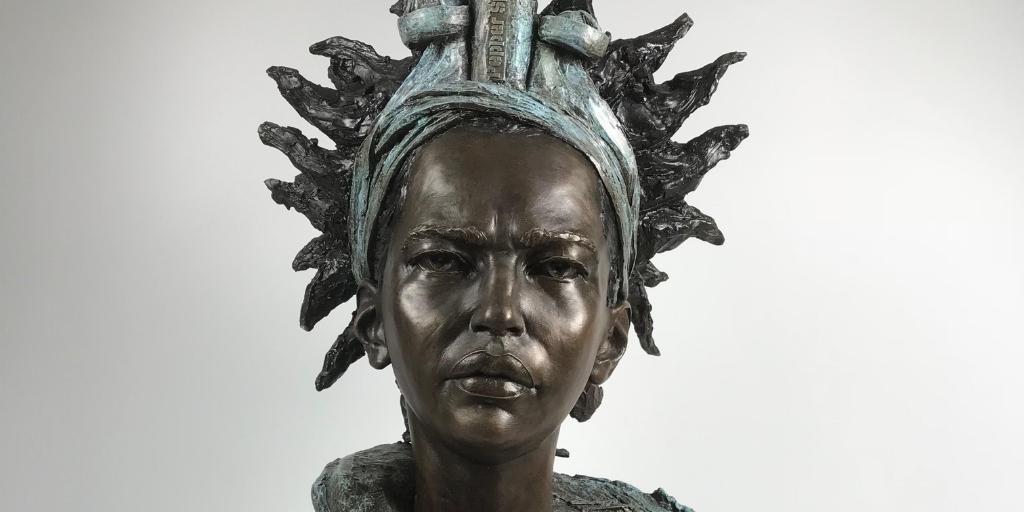 Eve shepherd sculpture
