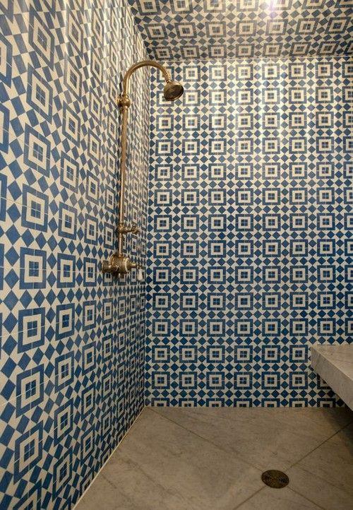 wet room tiles floor to wall