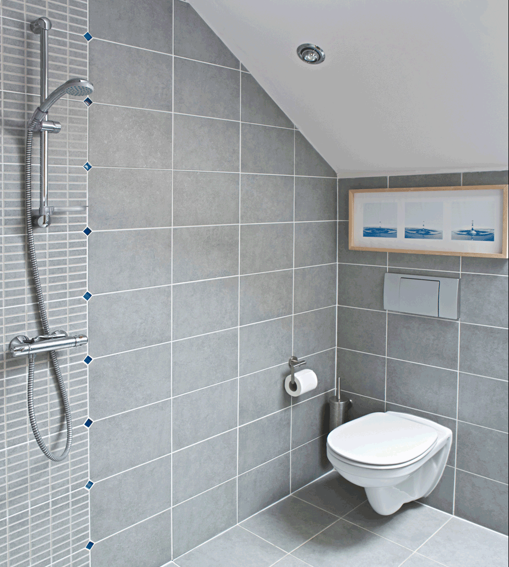 wet rooms are great options for small bathrooms