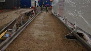 DCS KFC St Budeaux Plymouth Printed Concrete Drive-Thru 0850
