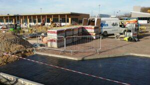 DCS Burger King Printed Concrete Drive-Thru Lane Herten Triangle Doncaster Lakeside 1083