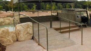 DCS Rhinos Wild Explorers Marwell Zoo Printed Concrete 0735