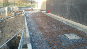 DCS Taco Bell Printed Concrete Drive-Thru Lane Herten Triangle Doncaster Lakeside 1083