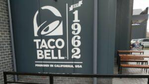 DCS Taco Bell Huntington York Printed Concrete Drive-Thru & Paving 0990