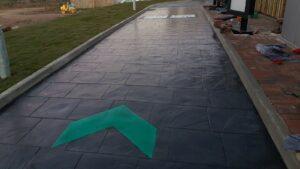 DCS Starbucks Atlantic Village Bideford Printed Concrete Drive-Thru 0884