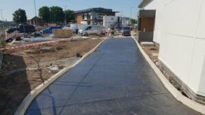 DCS KFC Great Homer St Liverpool Printed Concrete Drive-Thru Lane 1032