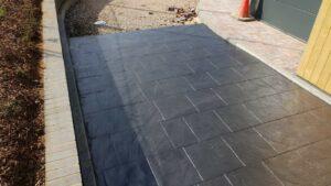 DCS Starbucks Wittering Printed Concrete Drive-Thru Lane 1033