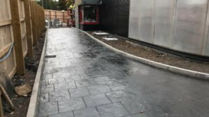 DCS KFC Fforestfach, Swansea Printed Concrete Drive-Thru 1065