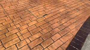 DCS Printed Concrete Driveway in Old English Cobblestone