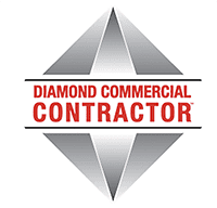 Diamond Commercial Contractor Logo