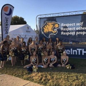 Community Involvement at a Troup High School Football game