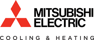mitsubishi cooling and heating equipment manufacturer logo