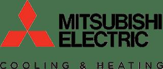 mitsubishi cooling and heating equipment manufacturer logo