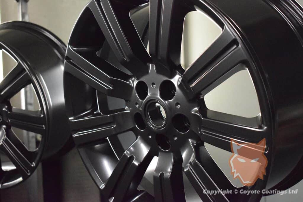 Powder Coated Satin Black