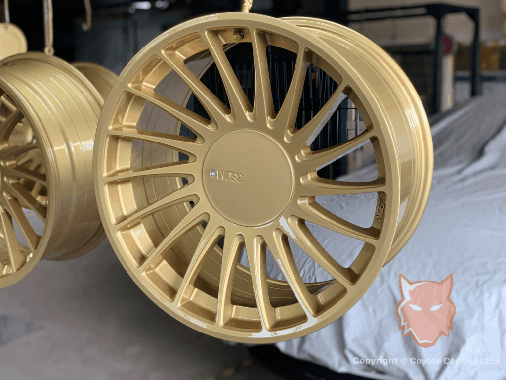 Powder Coated Pure Gold