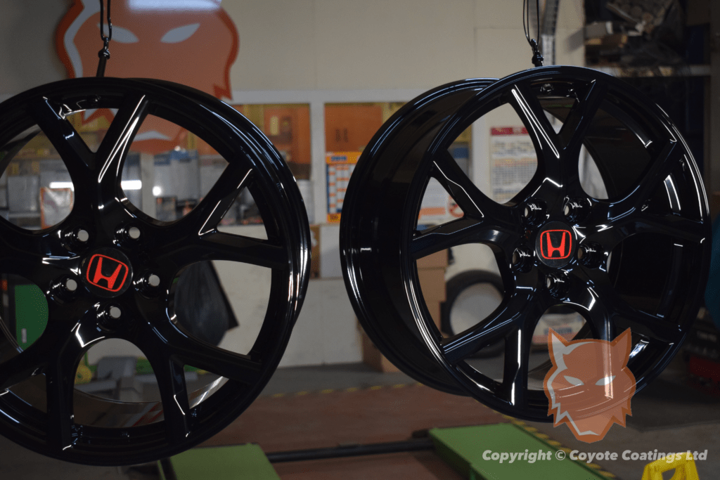 Powder Coated Gloss Black