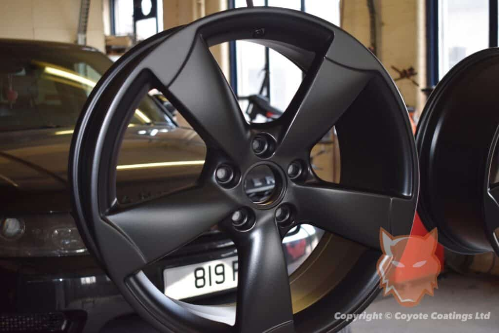 Powder Coated Matte Black