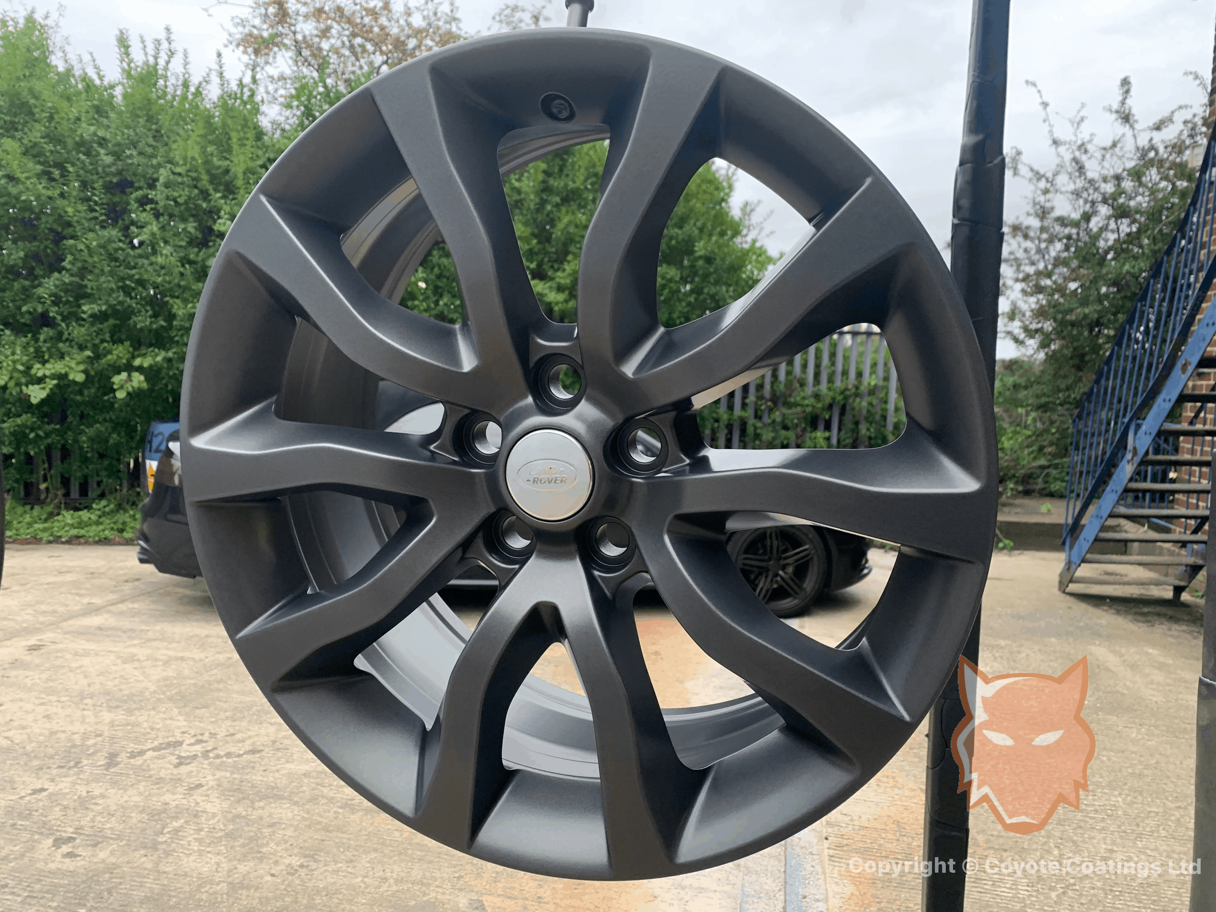 Powder Coated Matt Anthracite