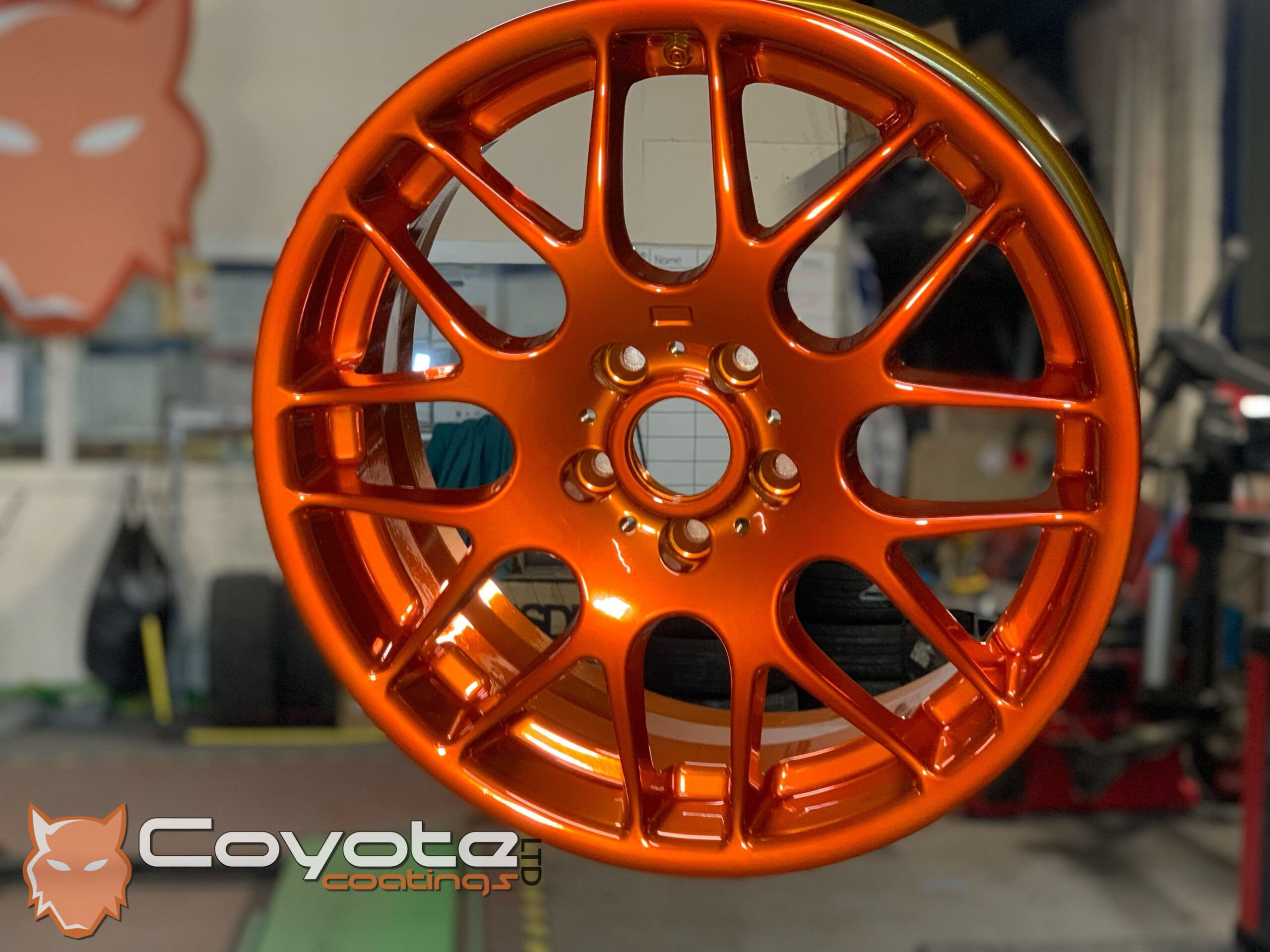 Powder Coated Candy Orange