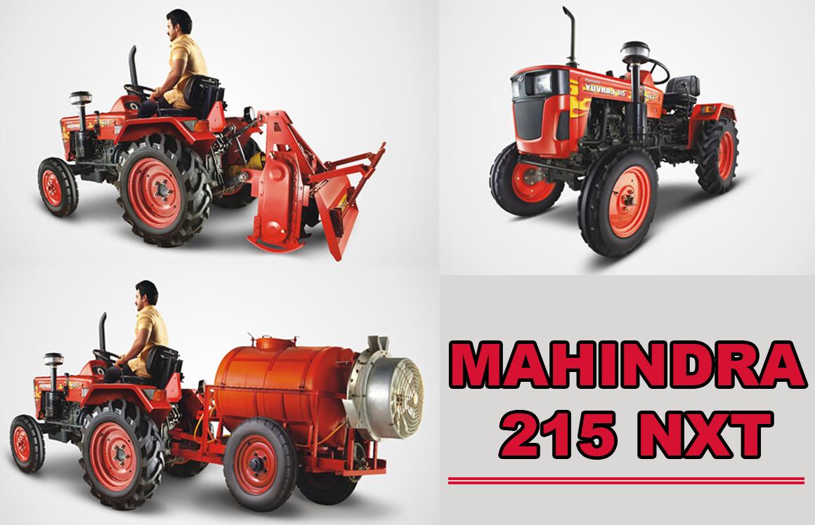 mahindra yuvraj 215 tractors