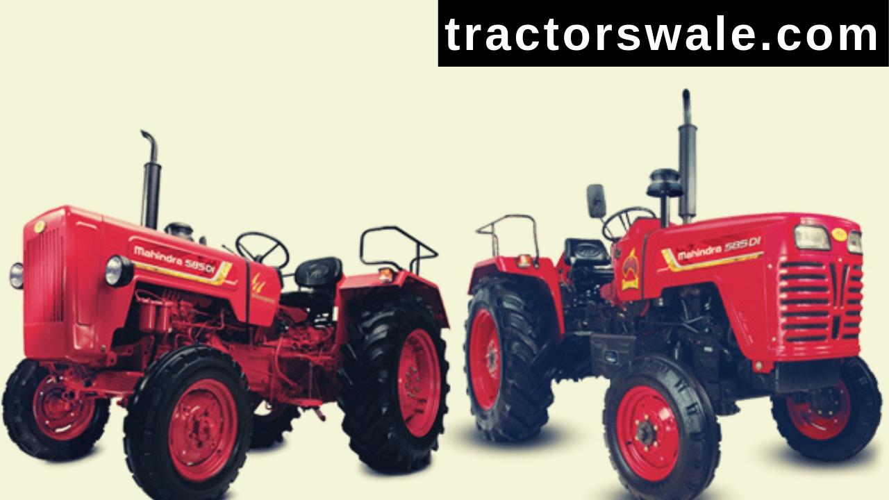 Mahindra 585 DI Tractor Price Specifications Mileage 2019