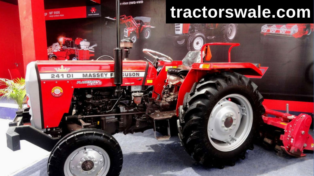 Massey Ferguson 241 DI 4WD Tractor (2020) Price, Specifications, Review India