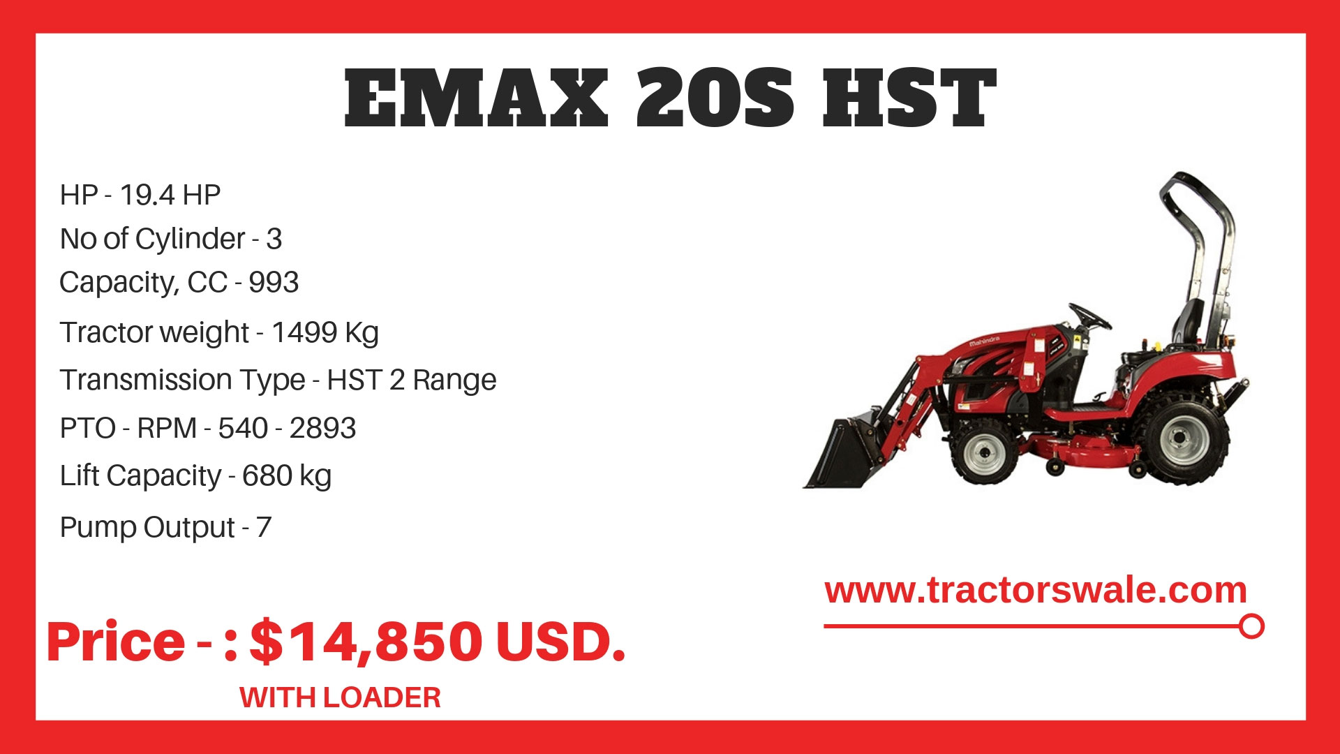 Emax-20s-Specifications