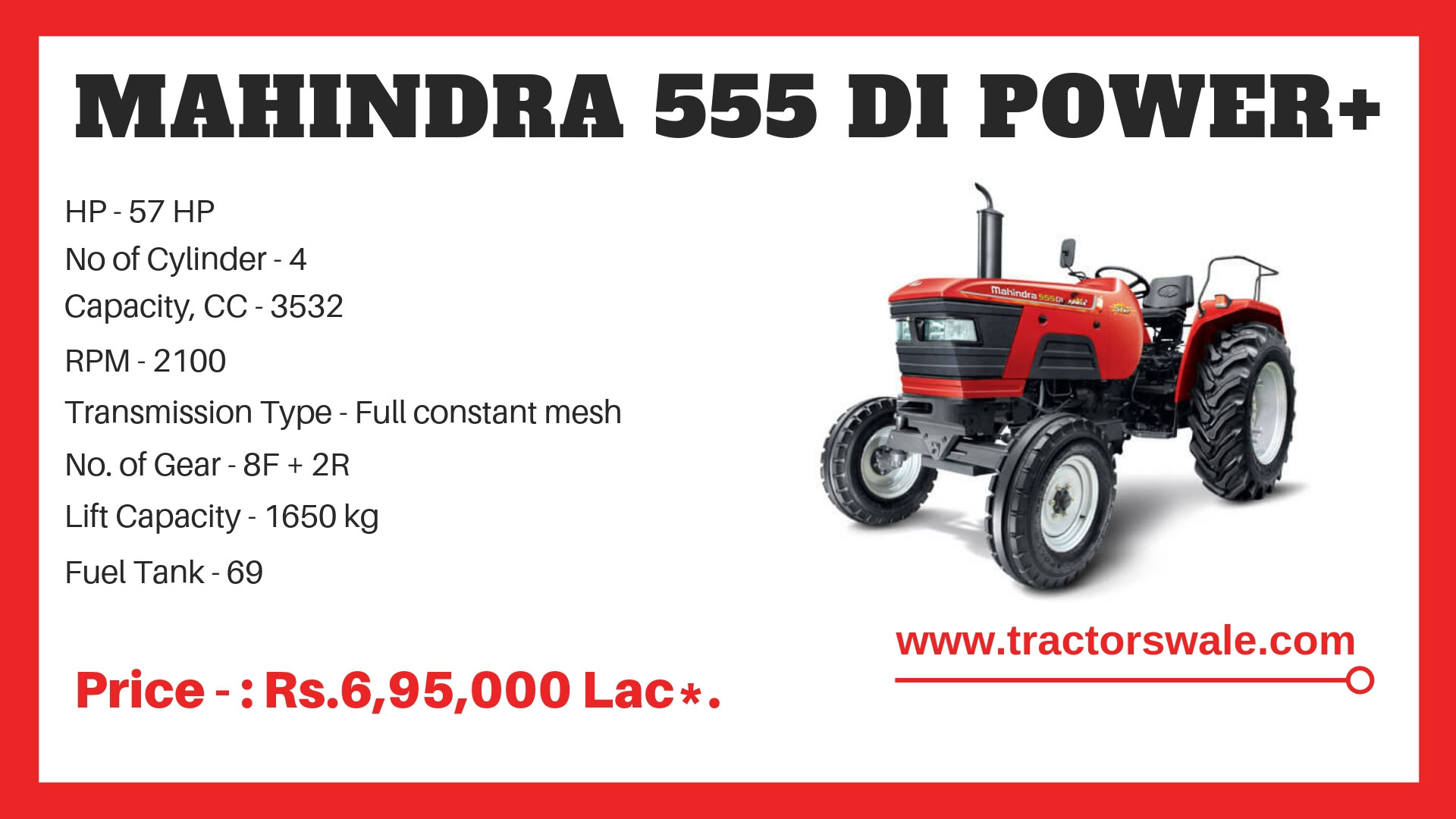 Mahindra-555-Di-Power-Plus-Specifications