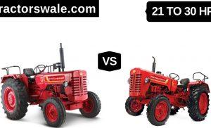 21 to 30 HP Mahindra 255 DI Vs 265 DI Tractor Mahindra Tractor [2020]
