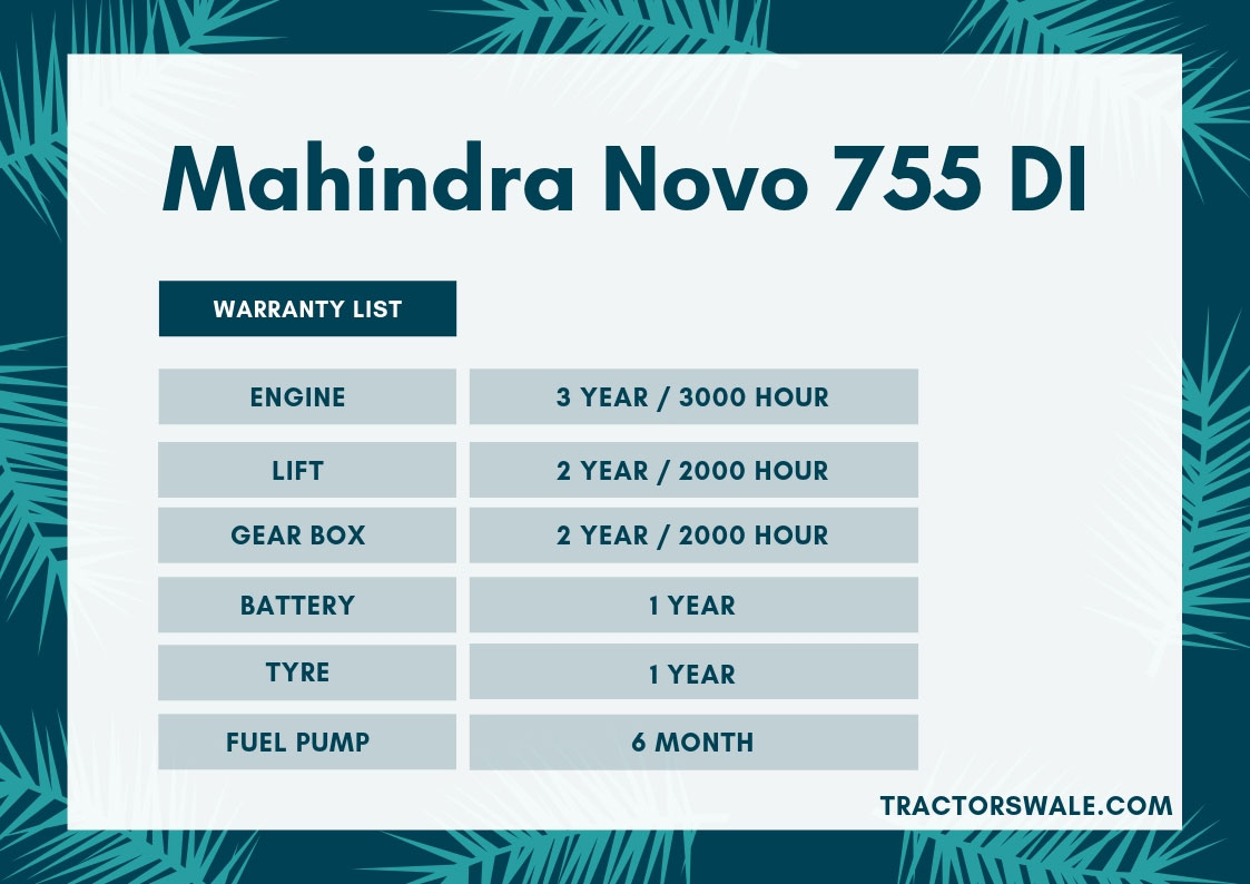 Mahindra-Novo-755-DI-Tractor-Specifications