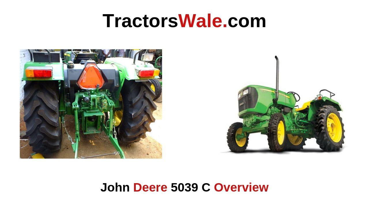 John Deere 5039 C Tractor Overview