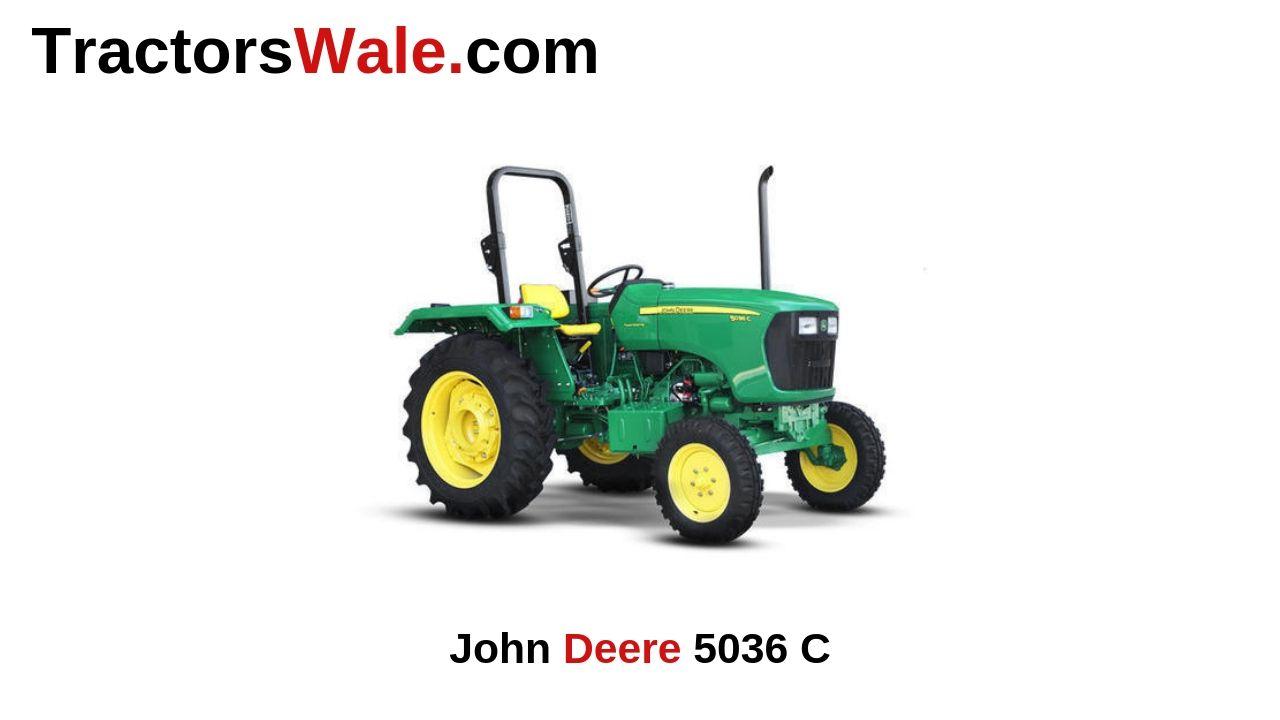 John Deere 5036 C Price Specs Mileage & Review 2020