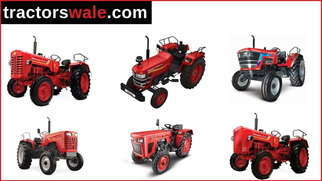 All Mahindra Tractor Price